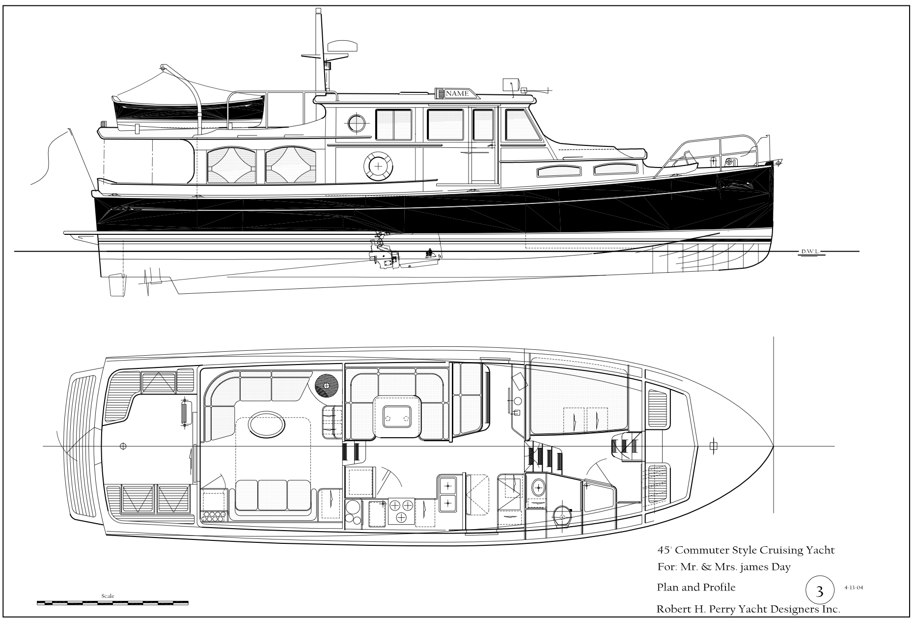 Robert h perry yacht designers inc drawings plans stacks image 1444 malvernweather Choice Image